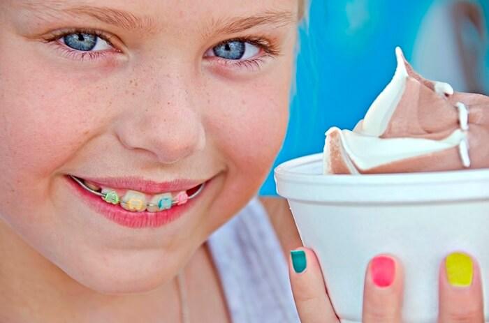 aparat dentar pentru copii